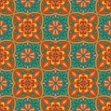 άνευ ραφής διάνυσμα σύστα&sigma Όμορφο χρωματισμένο σχέδιο για το σχέδιο και μόδα με τα διακοσμητικά στοιχεία Στοκ φωτογραφία με δικαίωμα ελεύθερης χρήσης
