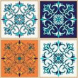 άνευ ραφής διάνυσμα σύστα&sigma Όμορφο χρωματισμένο σχέδιο για το σχέδιο και μόδα με τα διακοσμητικά στοιχεία Στοκ Εικόνα