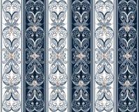 Άνευ ραφής διακοσμητικό σχέδιο με τα μαργαριτάρια Στοκ Εικόνες