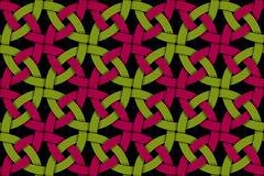Άνευ ραφής διακοσμητικό σχέδιο της χρωματισμένης κομμένης ίνας διάνυσμα Στοκ φωτογραφίες με δικαίωμα ελεύθερης χρήσης