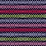 Άνευ ραφής διακοσμητικό υπόβαθρο με με τις γραμμές τρεκλίσματος Στοκ Εικόνα