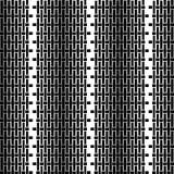 Άνευ ραφής διακοσμητικό υπόβαθρο με τις γεωμετρικές μορφές Στοκ Φωτογραφία