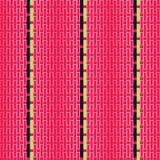 Άνευ ραφής διακοσμητικό υπόβαθρο με τις γεωμετρικές μορφές Στοκ φωτογραφίες με δικαίωμα ελεύθερης χρήσης