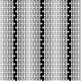Άνευ ραφής διακοσμητικό υπόβαθρο με τις γεωμετρικές μορφές Στοκ εικόνα με δικαίωμα ελεύθερης χρήσης