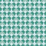 Άνευ ραφής διακοσμητικό υπόβαθρο με τις κουκουβάγιες Στοκ Φωτογραφία