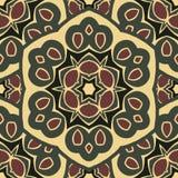 Άνευ ραφής διακόσμηση boho-κομψή Στοκ Εικόνες