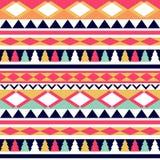 Άνευ ραφής διανυσματική φυλετική σύσταση Φυλετικό διανυσματικό σχέδιο ζωηρόχρωμος Στοκ Εικόνες