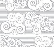 Άνευ ραφής διανυσματικό αφηρημένο σχέδιο Στοκ Εικόνες