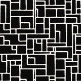 Άνευ ραφής διανυσματικό γεωμετρικό σχέδιο Στοκ Εικόνες