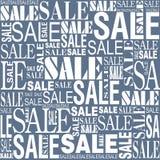 Άνευ ραφής διανυσματικό υπόβαθρο πώλησης Στοκ Εικόνες