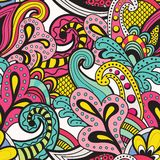 Άνευ ραφής διανυσματικό floral σχέδιο Στοκ Εικόνα