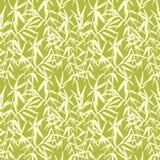 Άνευ ραφής ιαπωνικό σχέδιο μπαμπού στο πράσινο υπόβαθρο Στοκ φωτογραφία με δικαίωμα ελεύθερης χρήσης