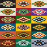 Άνευ ραφής κεραμίδι apache Στοκ Εικόνες