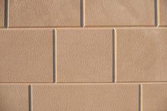 Άνευ ραφής κεραμωμένος τοίχος πετρών, μαρμάρινη στενή επάνω σύσταση ασβεστόλιθων στοκ εικόνα με δικαίωμα ελεύθερης χρήσης
