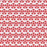 Άνευ ραφής κινεζικό υπόβαθρο σχεδίων, κόκκινο διάνυσμα λουλουδιών πολυτέλειας απεικόνιση αποθεμάτων