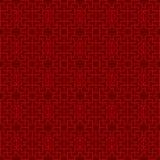 Άνευ ραφής κινεζικό υπόβαθρο σχεδίων γεωμετρίας δικτυωτού πλέγματος tracery παραθύρων Στοκ Εικόνες