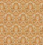 Άνευ ραφής κομψό floral πρότυπο Στοκ φωτογραφία με δικαίωμα ελεύθερης χρήσης