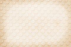 Άνευ ραφής κυρτό αφηρημένο υπόβαθρο σχεδίων κύκλων, ανοικτό καφέ στοκ φωτογραφία με δικαίωμα ελεύθερης χρήσης