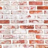 Άνευ ραφής κόκκινο brickwall Στοκ Εικόνες