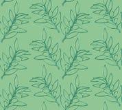 Άνευ ραφής κλαδί ελιάς σχεδίων Στοκ φωτογραφίες με δικαίωμα ελεύθερης χρήσης