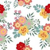 Άνευ ραφής μικρό floral σχέδιο στο διάνυσμα στοκ εικόνες με δικαίωμα ελεύθερης χρήσης