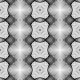 Άνευ ραφής μονοχρωματικό διακοσμητικό σχέδιο σχεδίου απεικόνιση αποθεμάτων