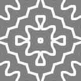 Άνευ ραφής μονοχρωματικό κυματίζοντας σχέδιο σχεδίου Στοκ Εικόνα