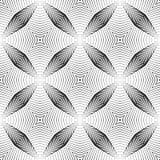 Άνευ ραφής μονοχρωματικό ριγωτό σχέδιο σχεδίου απεικόνιση αποθεμάτων