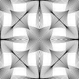 Άνευ ραφής μονοχρωματικό ριγωτό σχέδιο σχεδίου Στοκ φωτογραφία με δικαίωμα ελεύθερης χρήσης