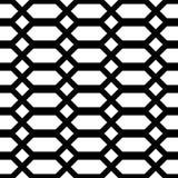 Άνευ ραφής μονοχρωματικό σχέδιο κιγκλιδωμάτων σχεδίου Στοκ εικόνα με δικαίωμα ελεύθερης χρήσης