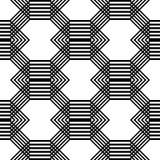 Άνευ ραφής μονοχρωματικό σχέδιο κιγκλιδωμάτων σχεδίου Στοκ φωτογραφίες με δικαίωμα ελεύθερης χρήσης