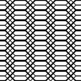 Άνευ ραφής μονοχρωματικό σχέδιο κιγκλιδωμάτων σχεδίου Στοκ εικόνες με δικαίωμα ελεύθερης χρήσης