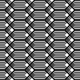 Άνευ ραφής μονοχρωματικό σχέδιο κιγκλιδωμάτων σχεδίου Στοκ φωτογραφία με δικαίωμα ελεύθερης χρήσης