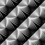 Άνευ ραφής μονοχρωματικό σχέδιο κοχυλιών σχεδίου Στοκ Εικόνες