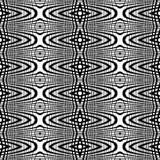 Άνευ ραφής μονοχρωματικό σχέδιο πλέγματος σχεδίου Στοκ εικόνες με δικαίωμα ελεύθερης χρήσης
