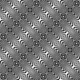 Άνευ ραφής μονοχρωματικό σχέδιο πλέγματος σχεδίου Στοκ εικόνα με δικαίωμα ελεύθερης χρήσης
