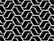 Άνευ ραφής μονοχρωματικό σχέδιο τρεκλίσματος σχεδίου Στοκ Φωτογραφία