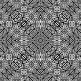 Άνευ ραφής μονοχρωματικό σχέδιο τρεκλίσματος σχεδίου Στοκ Εικόνες