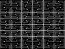 Άνευ ραφής μονοχρωματικό hexagon σχέδιο σχεδίου ελεύθερη απεικόνιση δικαιώματος
