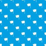 Άνευ ραφής μπλε σχεδίων σημαιών Στοκ Φωτογραφίες