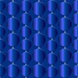Άνευ ραφής μπλε σύσταση με τους μπλε κύκλους διανυσματική απεικόνιση