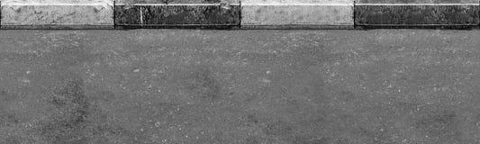 Άνευ ραφής (μόνο οριζόντιος) δρόμος με τα σύνορα Στοκ Εικόνες