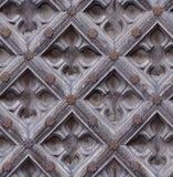 Άνευ ραφής ξεπερασμένη σύσταση πορτών χάραξης ξύλινη Στοκ εικόνα με δικαίωμα ελεύθερης χρήσης