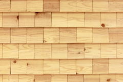 Άνευ ραφής ξύλινος τοίχος κεραμιδιών Στοκ φωτογραφία με δικαίωμα ελεύθερης χρήσης