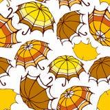 άνευ ραφής ομπρέλες προτύπ&o Στοκ εικόνες με δικαίωμα ελεύθερης χρήσης