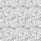 Άνευ ραφής λουλούδια Στοκ εικόνα με δικαίωμα ελεύθερης χρήσης