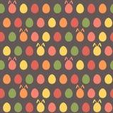 Άνευ ραφής Πάσχας αυγών σχέδιο λαγουδάκι άνοιξη ζωηρόχρωμο Στοκ εικόνα με δικαίωμα ελεύθερης χρήσης