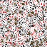 Άνευ ραφής παίζοντας σχέδιο καρτών Στοκ φωτογραφίες με δικαίωμα ελεύθερης χρήσης