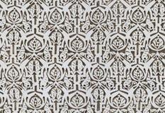 Άνευ ραφής περίκομψο μαυριτανικό σχέδιο Στοκ φωτογραφίες με δικαίωμα ελεύθερης χρήσης