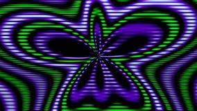 Άνευ ραφής περιτυλίχτηκε χρωματισμένο μήκος σε πόδηα διανυσματική απεικόνιση